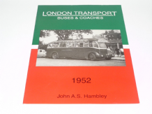 LONDON TRANSPORT BUSES AND COACHES 1952 (Hambley 1993)